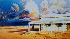Queensland: Outback artist
