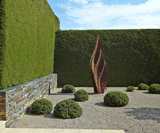 Coastal garden sculpture